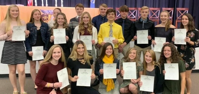 Ogemaw Heights High School National Honor Society
