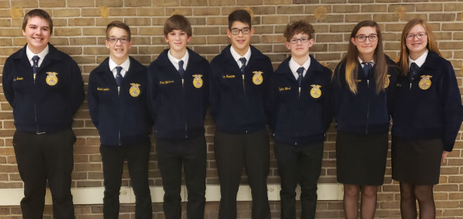 Ogemaw Heights High School FFA Team - January 2020