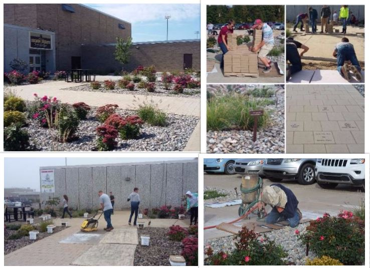 Collage of Raingarden Pictures